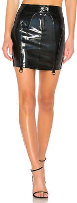 RtA Zander Leather Skirt