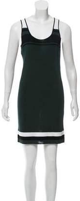 Demy Lee Sleeveless Colorblock Dress