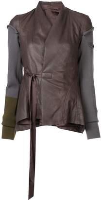 Rick Owens Princess wrap jacket