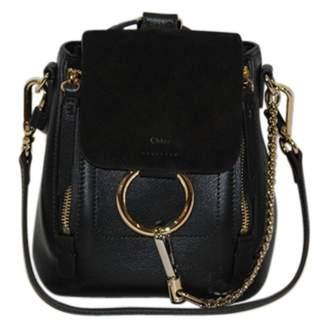 Chloé Faye leather backpack