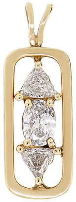 One Kings Lane Vintage 18k Yellow Gold Diamond Pendant - Raymond Lee Jewelers