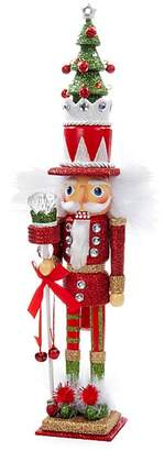 Kurt Adler Christmas Tree Hat Nutcracker