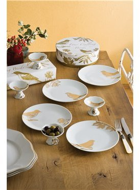 Rosanna Footed Appetizer Plates