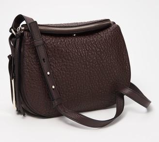 Vince Camuto Large Lamb Leather Crossbody Bag - Ida
