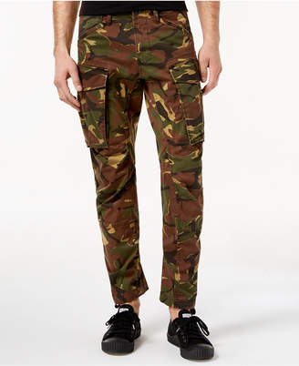 G Star Men's Tapered Fit Stretch Camo Cargo Pants
