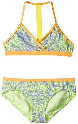 3f4e80c6ad4 Nike Doodle T-Back Bikini (Little Kids/Big Kids)