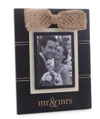 Mud Pie Mr & Mrs Picture Frame