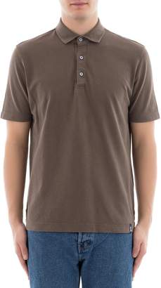 Drumohr Green Cotton Polo