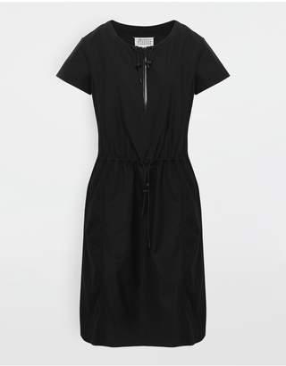 Maison Margiela Cotton-Poplin Day Dress
