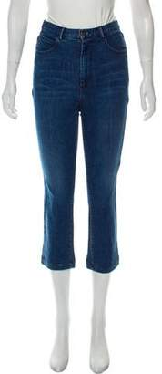 Rachel Comey High-Rise Cropped Jeans