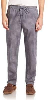 e30ffd400b Hanro Men s Night  Day Plaid Woven Pants