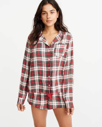Abercrombie & Fitch Flannel Sleep Shirt