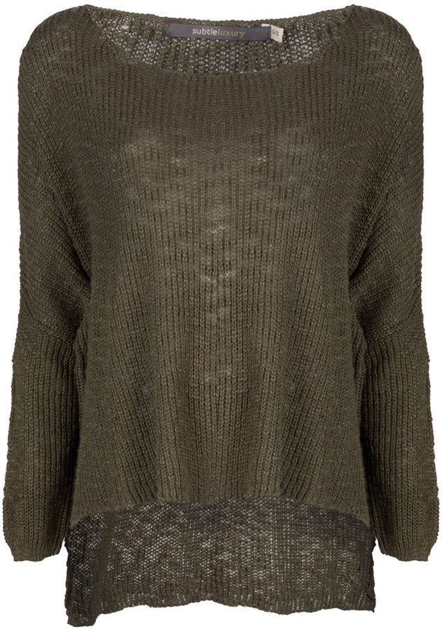 Subtle Luxury Everyday easy sweater