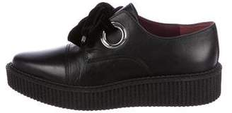 Marc by Marc Jacobs Leather Low-Top Sneakers w/ Tags