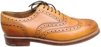 Grenson Camel Leather Lace ups