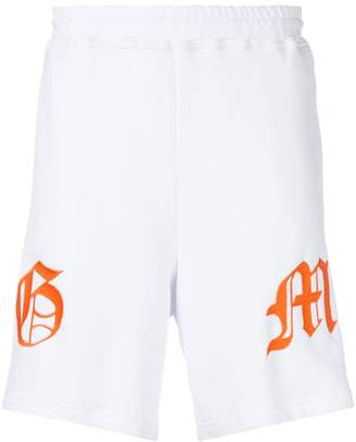Omc embroidered track shorts