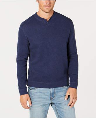 Tommy Bahama Men's Flip Side Reversible Classic Pima Cotton Sweater