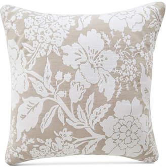 """Croscill Nellie Floral 18"""" Square Decorative Pillow"""