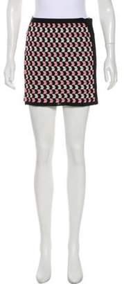 Missoni Wool-Blend Skirt Black Wool-Blend Skirt