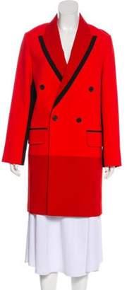 Barbara Bui 2018 Knee-Length Coat Red 2018 Knee-Length Coat