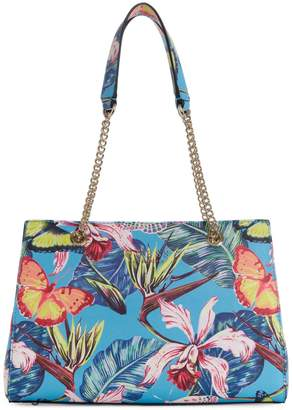 GUESS Robyn Floral Satchel