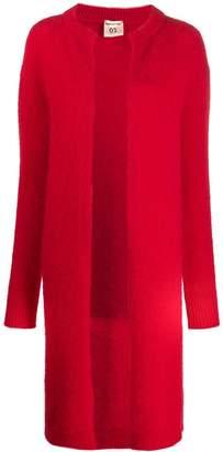 Semi-Couture Semicouture open front long cardi-coat