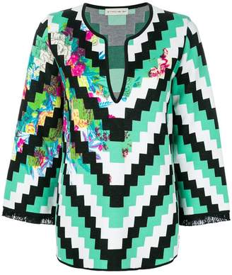 Etro geometric printed tunic