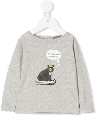 Emile et Ida Bear print T-shirt