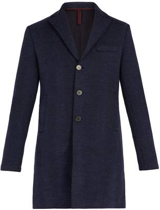 Harris Wharf London Herringbone virgin-wool jacket