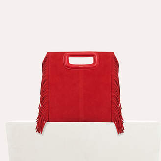Maje M bag in suede