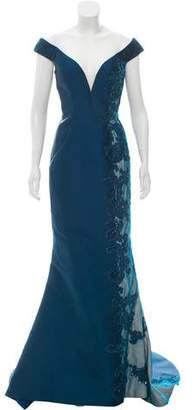 Terani Couture Embellished Sleeveless Dress