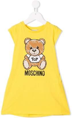 Moschino Kids Teddy Toy print dress