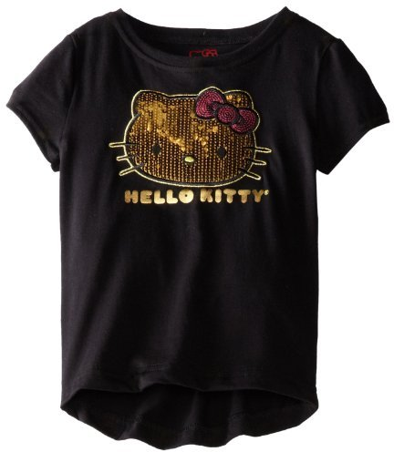 Hello Kitty Girls 2-6X Tee Shirt With Sequin