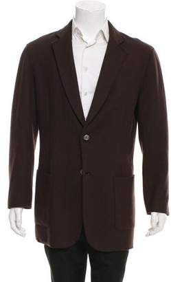 John Varvatos Wool Button-Up Jacket