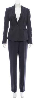 Calvin Klein Collection Tailored Straight-Leg Pantsuit