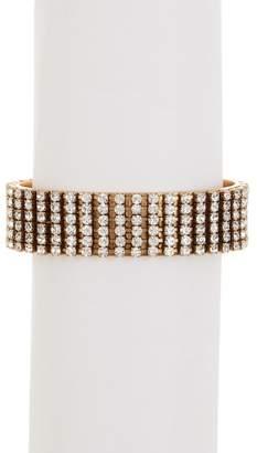 Loren Hope Glen Crystal Cuff Bracelet
