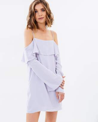 Lulu and Rose Clio Off Shoulder Dress