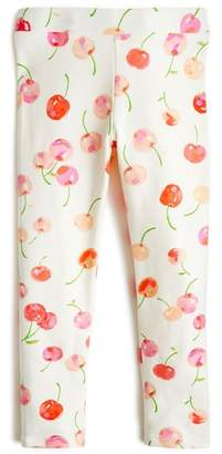 J.Crew crewcuts by crewcuts by J. Crew Cherry Print Leggings