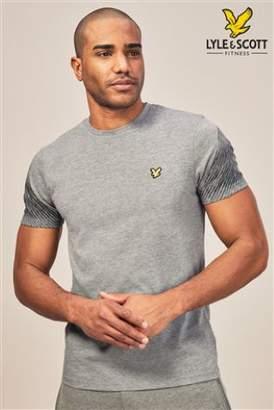 Next Mens Lyle & Scott Sport Whitfell Graphic T-Shirt