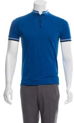 Lanvin Colorblock Polo Shirt
