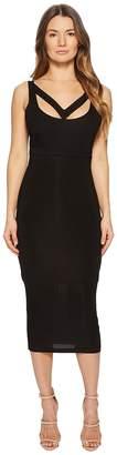 Versace Cut Out Sleeveless Dress Women's Dress
