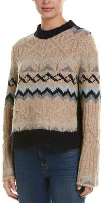 See by Chloe Knit Alpaca-Blend Sweater