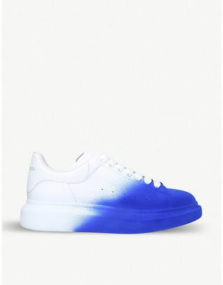 Alexander McQueen Blue Leather Men's Shoes | over 10 ...