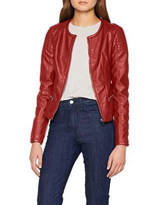 Pimkie Women's VSW18 Leopold Jacket, (Rouge 342a03)