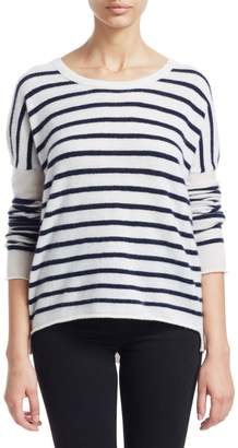 ATM Anthony Thomas Melillo Striped Cashmere Pullover