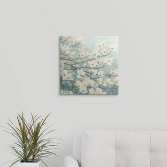 Great Big Canvas 'Dogwood Blossoms II' by James Wiens Painting Print