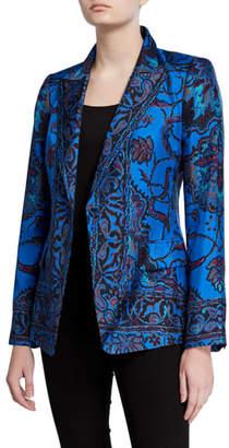 Kobi Halperin Petra Printed Silk Jacket