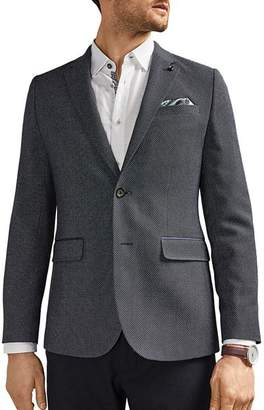 Ted Baker Mumble Semi-Plain Regular Fit Jacket