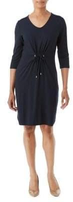 Olsen Tie Front Dress