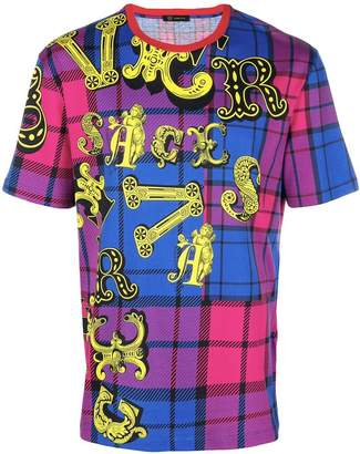 Versace graphic logo T-shirt